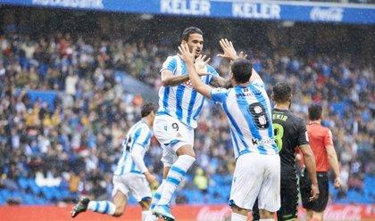 Real Sociedad y Sevilla aprietan la zona alta