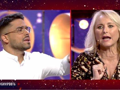 Miguel Frigenti y Lucia Pariente protagonizan el enfrentamiento más tenso del 'Debate de GH VIP 7'