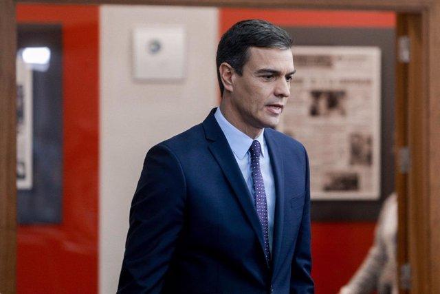El president del Govern central en funcions, Pedro Sánchez