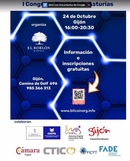 Gijón acoge el primer congreso sobre la tecnología Blockchain en Asturias con expertos nacionales e internacionales