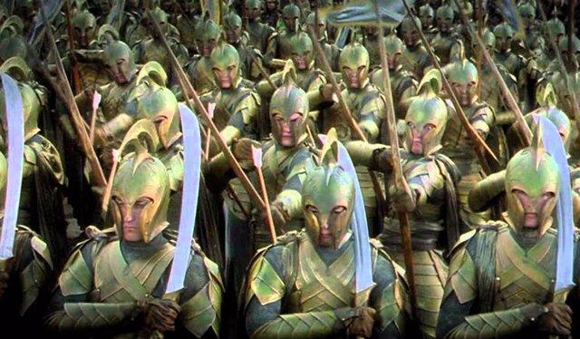 Imagen de la película El Señor de los Anillos