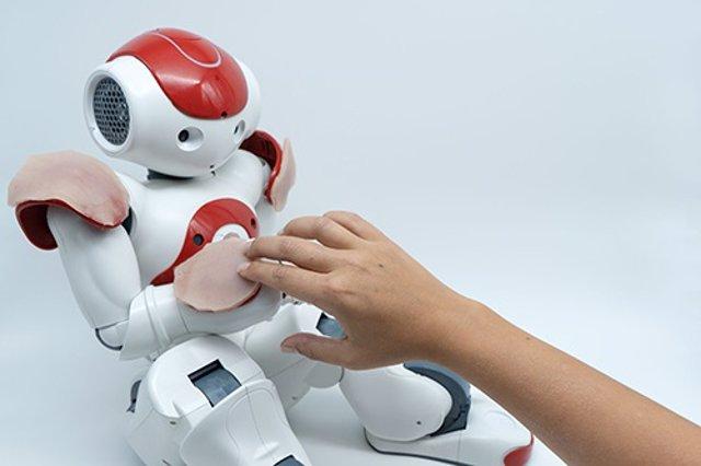 Una nueva interfaz táctil imita la funcionalidad de la piel humana
