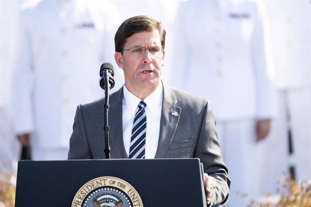 Mark Esper, secretario de Defensa de Estados Unidos