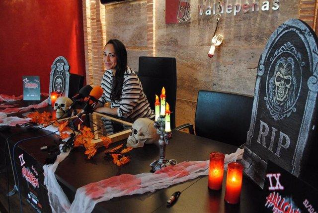 Presentación de Halloween en Valdepeñas