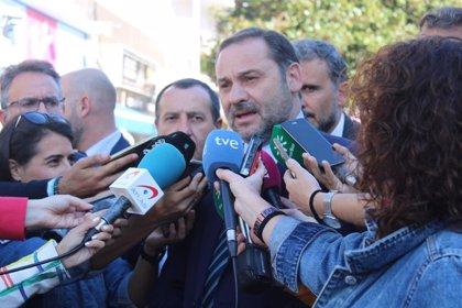 """Ábalos, sobre traslado de presos del 'procés': """"No es momento de ocurrencias"""" que no solventan el problema de Cataluña"""