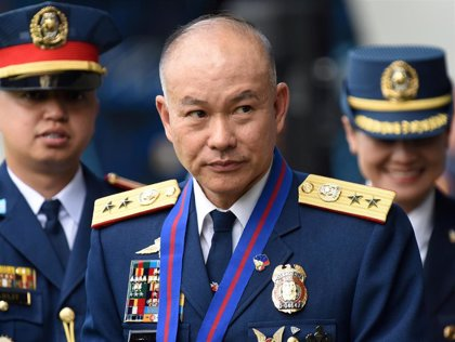 El exjefe de la Policía de Filipinas Oscar Albayalde es acusado de delitos relacionados con las drogas