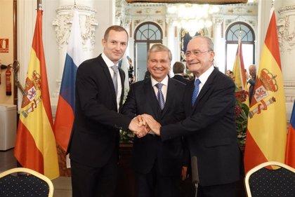 Málaga capital y la región administrativa nororiental de Moscú firman un memorando para colaborar en diversos ámbitos