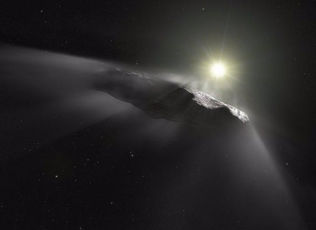 Teorizan si objetos interestelares pueden exportar vida desde la Tierra