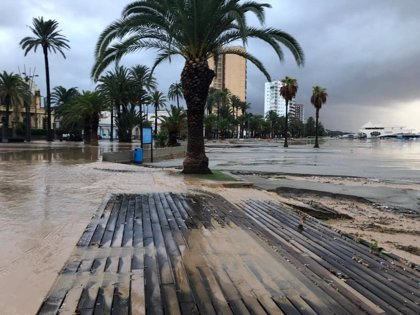 Una DANA dejará a partir de mañana lluvias intensas, incluso torrenciales, en el este de la Península y Baleares