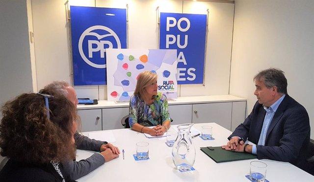 Reunión con el PP.