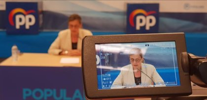 """El PP dice que el TSJ ha sacado """"tarjeta roja"""" a Oltra porque """"no está preparada para gestionar"""" la política de menores"""