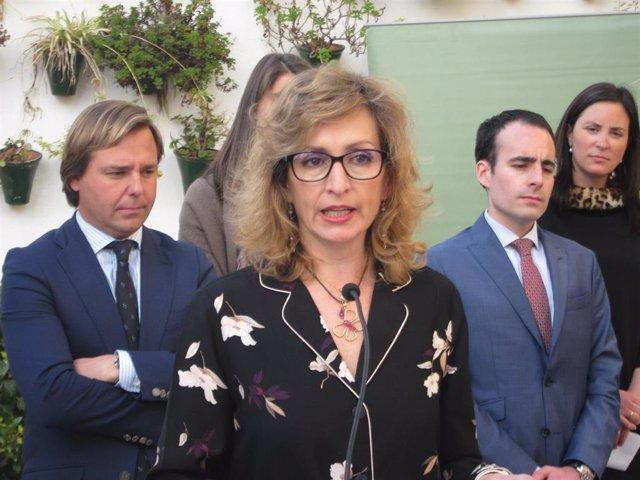 La delegada de Educación de la Junta de Andalucía en Córdoba, Inmaculada Troncoso, en una imagen de archivo