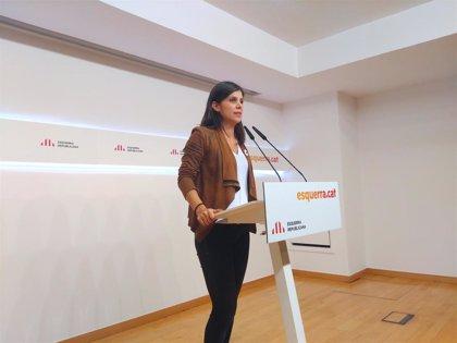 "ERC llama al independentismo a recuperar consensos: ""No va de reproches ni de ponerse medallas"""
