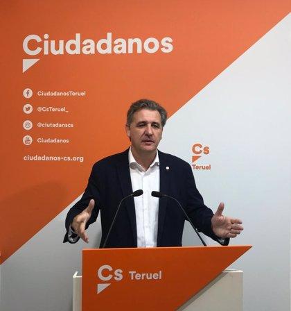 Moreno señala que Cs es el partido que más defiende a Teruel