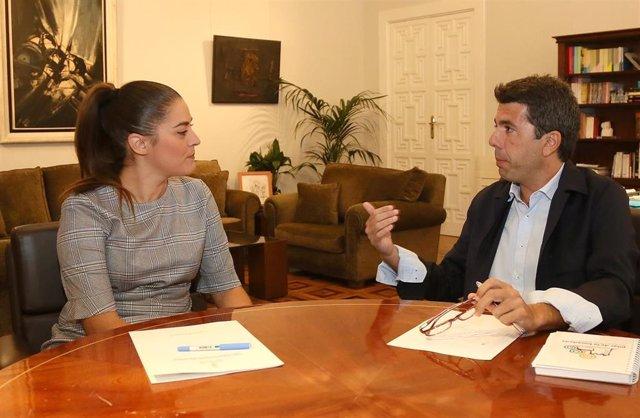 Carlos Mazón y Mireia Mollà.