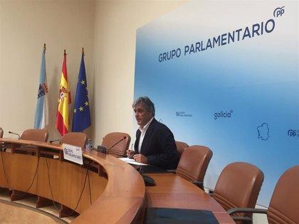 Puy (PPdeG) defiende los presupuestos de la Xunta y el modelo de rebajas fiscales frente a las críticas de la oposición
