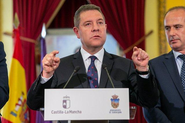El president regional, Emiliano García-Page.