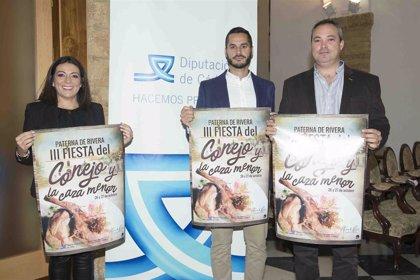 Diputación de Cádiz colabora en la organización de la III Feria del Conejo y la Caza Menor de Paterna