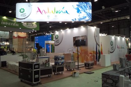 El pabellón de la Junta en Fruit Attraction reúne a 124 empresas de las 242 presentes en la feria de frutas y hortalizas