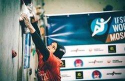 Aries Susanti Rahayu ha batut un rècord mundial femení d'escalada amb 15 metres en 6,995 segons (INSTAGRAM/ARIES_SUSANTI)