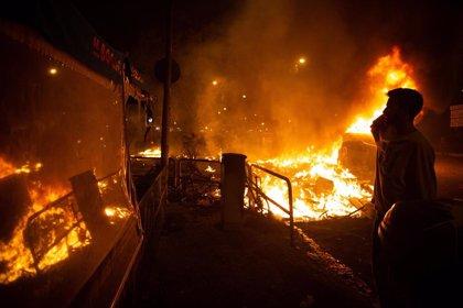 Bajan a 10 los heridos en disturbios contra la sentencia que siguen hospitalizados, 7 graves