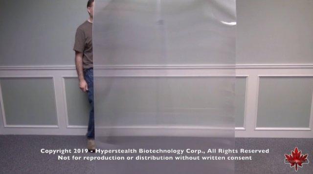 Una firma canadiense crea una 'capa de invisibilidad' para uso militar
