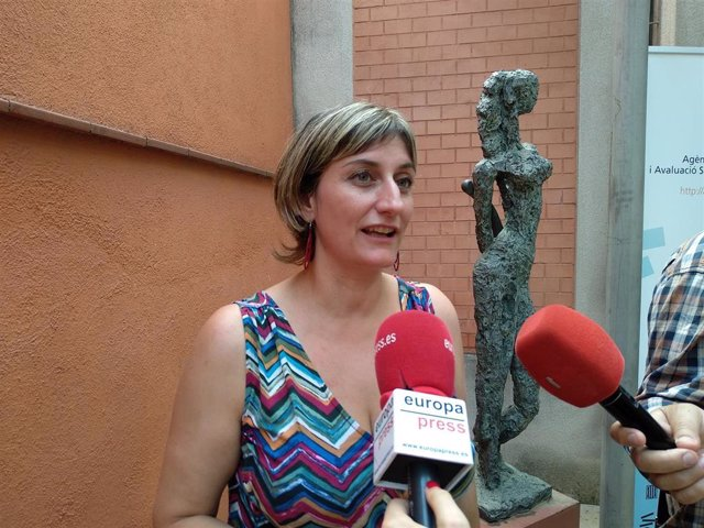 (ARCHIVO) La consellera de Salud de la Generalitat, Alba Vergés