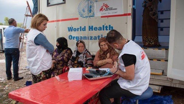 Siria.- MSF inicia actividades en la frontera entre Siria e Irak para ayudar a q