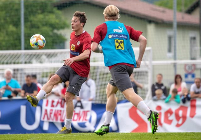 """Fútbol/Champions.- Baumgartlinger: """"Tenemos la ambición de imponer nuestro juego"""