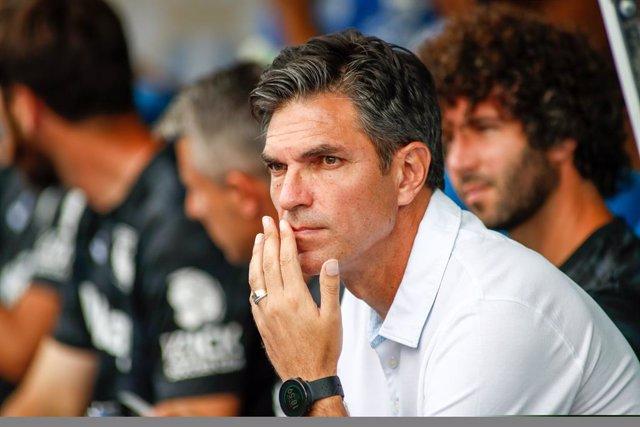 CORR.- Fútbol.- Mauricio Pellegrino abandona el CD Leganés por los malos resulta
