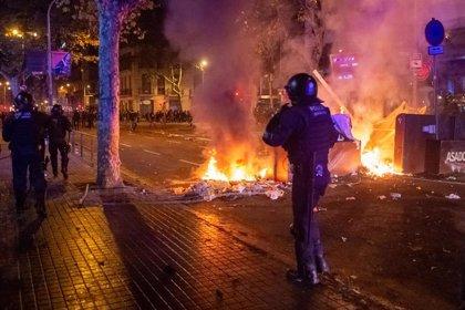 Los juzgados de Barcelona dejan en libertad provisional a 25 detenidos en altercados