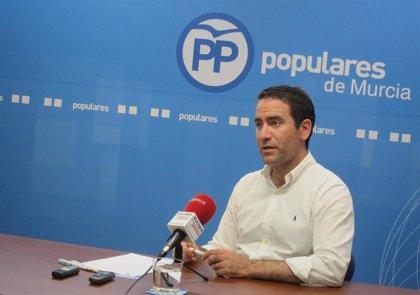 Teodoro García (PP) interviene este martes en los Desayunos Informativos que organiza Europa Press en Murcia