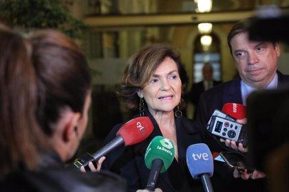"""Calvo defiende que Sánchez no conteste a Torra: """"Hay que respetar lo poco respetuoso que ha sido con los catalanes"""""""