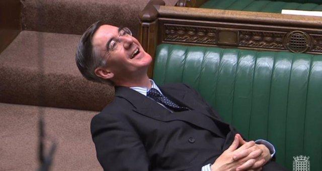 El portavoz conservador en el Parlamento, Jacob Rees-Mogg