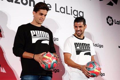 LaLiga y Puma presentan el balón oficial para la temporada invernal