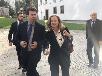 """Calviño avisa que la """"demagogia"""" no ayuda a encontrar una solución para As Pontes y pide """"remar en la misma dirección"""""""
