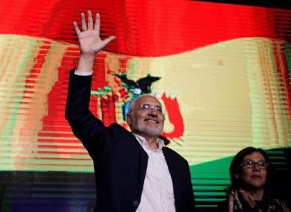 """Mesa llama a una """"movilización democrática"""" para impedir la """"manipulación"""" del resultado electoral en Bolivia"""