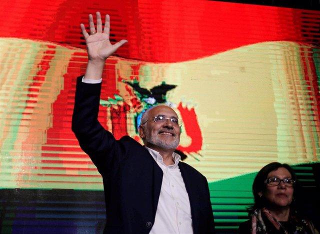 El opositor boliviano Carlos Mesa
