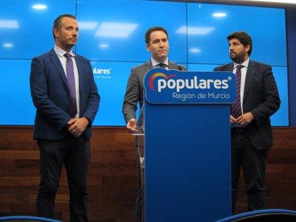 García Egea anuncia que el PP pedirá que se apruebe este viernes un Real Decreto para el Mar Menor