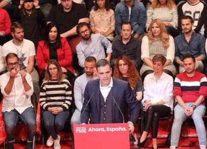 """Sánchez avisa: """"Para el bloqueo hay muchas siglas, para avanzar solo las del PSOE"""""""