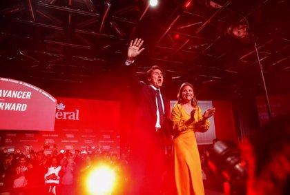 Los liberales de Trudeau se hacen con la victoria en Canadá pesar de la pérdida de apoyos, según resultados preliminares