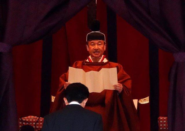 Entronación del nuevo emperador de Japón Naruhito en Tokio