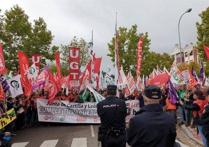 La Junta publica los servicios mínimos para la huelga de 2,5 horas de los empleados públicos para reclamar las 35 horas