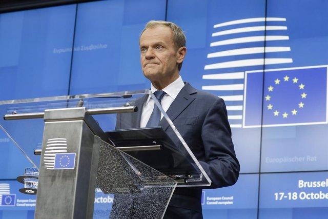 """Brexit.- Tusk avisa de que la respuesta a la petición de prórroga dependerá de """""""