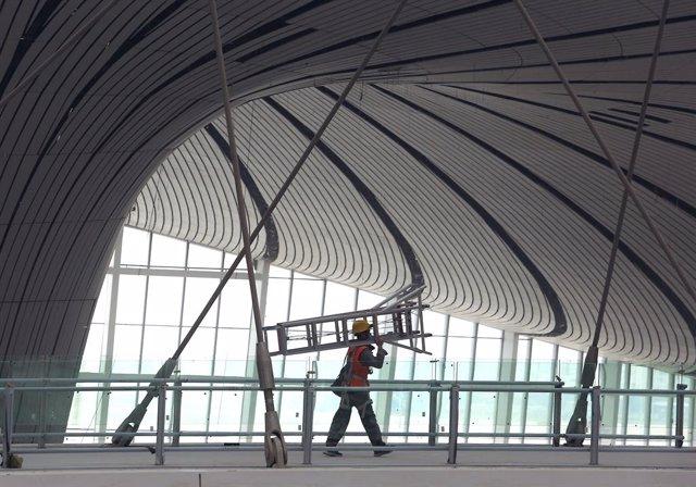 Construcción del Aeropuerto Internacional de Pekín-Daxing