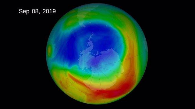 Un clima anormal deja el agujero de ozono más pequeño desde su hallazgo
