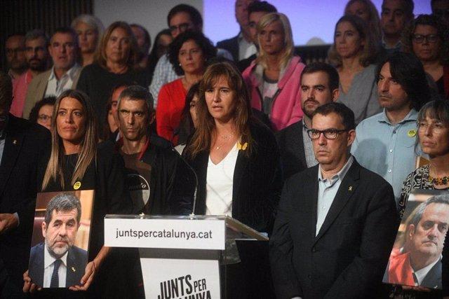 La portaveu de JxCat al Congrés, Laura Borràs.