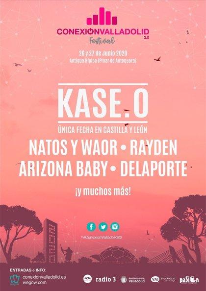 Kase.O anuncia su única fecha en Castilla y León para 2020 como cabeza de cartel del Conexión Valladolid
