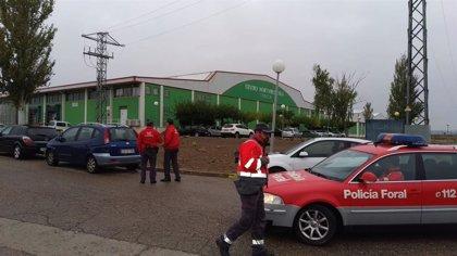 Desalojada la empresa AN en Tudela por una fuga de amoniaco de una cámara frigorífica