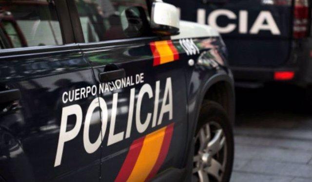 Cotxe de la Policina Nacional.